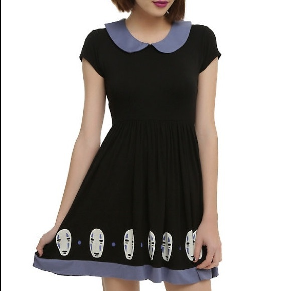 63380f2852f Hot Topic Dresses   Skirts - Studio Ghibli Spirited Away No-Face Dress